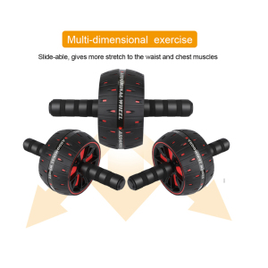Exercise Fitness Gym Equipment Original Factory Abdominal Muscle AB Wheel Roller Wheel with Mat