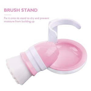 Face Skin Care Deep Cleanser Tool with Stand Facial Brush