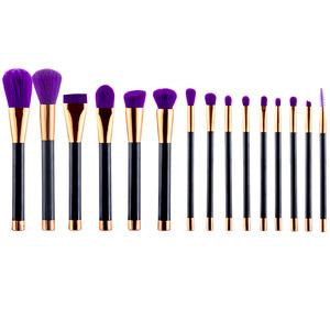 Factory Price 15pcs professional make up brush set cosmetic brush makeup tool kit