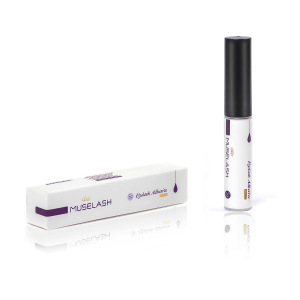 High quality eyelash glue/strip lash adhesive/false lash glue with private label