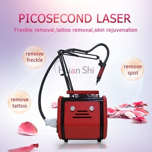 Huanshi new product ideas 2018 picosecond laser freckle tattoo removal machine beauty equipment