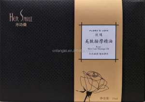 Natural Compound Aroma Essential Oil Female Body Massage Rose Oil