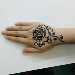 removable henna tattoo sticker tattoo sticker stencil