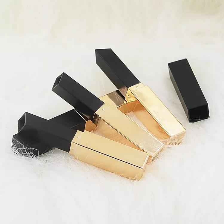 PL-S-004 plastic slim square lipstick tube