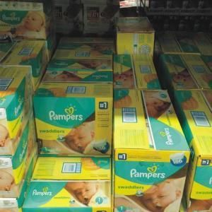 Pampers Swaddlers Baby Diapers All Sizes 1,2,3,4,5,6