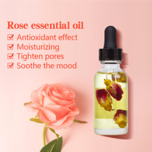 AiXin OEM Essential oil Rose 100% Pure Natural Rose Petal Relieve And Relax Massage Aromatherapy Rose Essential oil