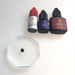 Black eyelash extension glue private label eyelash glue