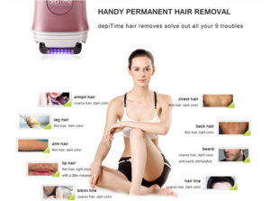 BSCI Approved depiTime+ Plus Hair Removal,Ladies Electric Shaver Epilator,Electric Hair Threading machine beauty