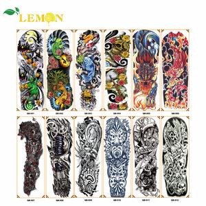 Cheap Price Temporary Tattoo Full Arm Large Fashion Tattoo Sticker