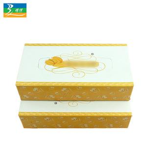 Custom printed ultra soft box facial tissue