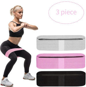 Customizable Branded Resistance Bands Resistance-bands Yoga Stretch Gym Elastic Exercise Exercise Sweat Bands Gym Equipment