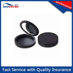 Customized cosmetic compact eye shadow powder case