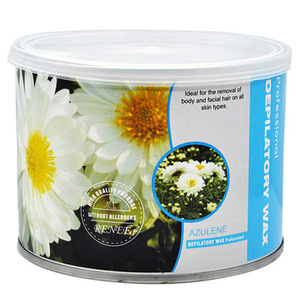 depilatory wax tin,hair removal wax tin, 400ml depilatory wax can