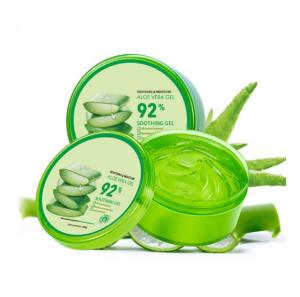 Factory wholesale 100% organic aloe vera gel korean cosmetics