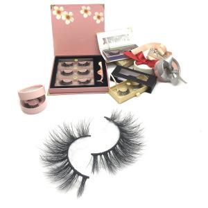 False eyelashes wholesale mink lashes with custom logo private label ,false lashes