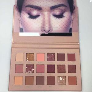 High Pigmented New Nude Eyeshadow Palette 18 Colors Makeup Beauty Eye Shadow