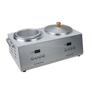 High quality 500cc Digital Double Pot Professional Wax Warmer
