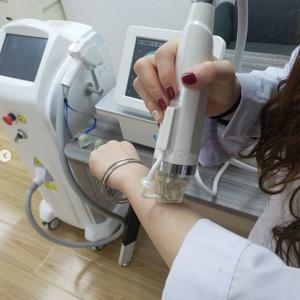 microneedle rf 5mhz insulated needle/microe needle device rf skin tightening machine