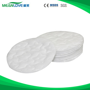 OEM Non-woven cosmetic round cotton pad