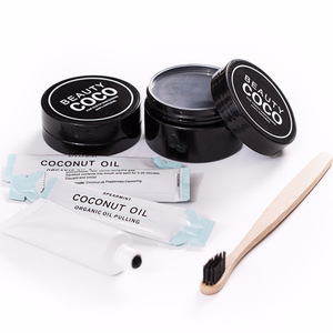 Organic Activated Charcoal Toothpaste Coconut Charcoal Teeth Whitening