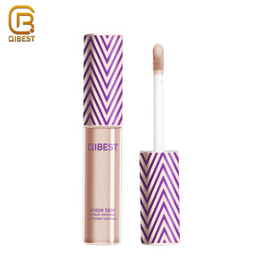 QIBEST Cosmetic Makeup Liquid Creamy Foundation Concealer