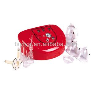 vacuum pump vibrating breast massager
