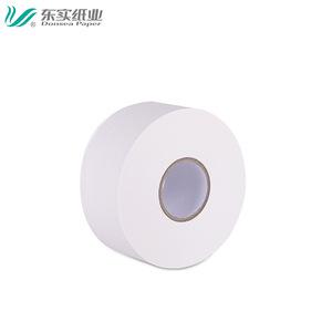 Wholesale virgin white public jumbo roll toilet tissue paper / bathroom tissue / marcas de Papel Higienico