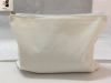 Canvas Cotton Cosmetic Bag, Cosmetic Pouch, With Logo