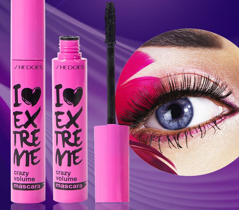 Mascara that slim and long curly eyelash of black pink / Waterproof mascara / The 4d eyelash creams