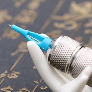 AI-Aiheogae TG3126 Blue 50pcs/box Plastic Customized Disposable Tip Tattoo Nozzle Tips
