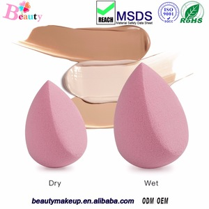 Cosmetics Beauty Sponge Blender - Latex-Free and Vegan Makeup Sponge - for Powder, Cream or Liquid Application
