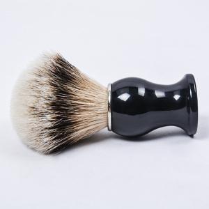 Dongshen wholesale comfortable silvertip badger hair resin handle shaving brush
