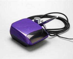Electric nail spray makeup air brush machine airbrush makeup kit aerograph kit