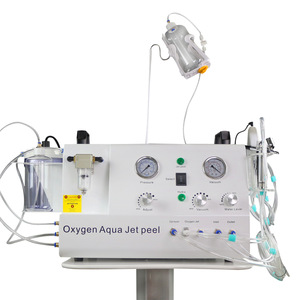 Facial care 2 in 1 oxygen jet peel machine /oxygen water machine for skin
