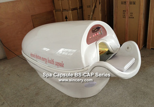Far Infrared Ray SPA Capsule with Heating Back Function