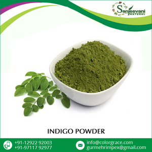 Halal Certified Natural Indigo Henna Powder for Hair Dye
