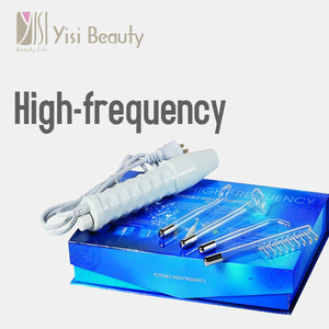 Hand-holding Glass Electrode Facial Care Instrument for salon beauty