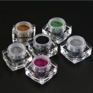 Multi color face glitter loose powder