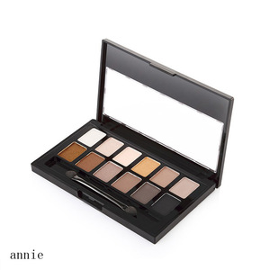 New, Pro 12 Neutral Warm Eyeshadow Palette, 12 colors private label eyeshadow cosmetic  makeup eyeshadow box nude for eye beauty