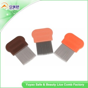 plastic nit free terminator metal head lice comb
