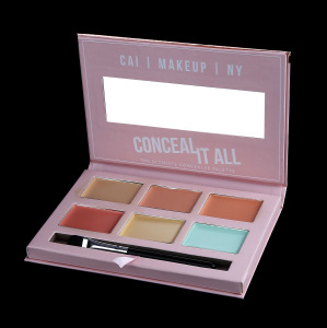 private logo Makeup Eye Shadow 10 Color Eyeshadow Palette OEM/ ODM shimmer Matte eyeshadow