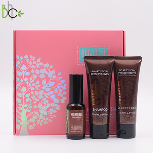 Promotion Present Gift Set Sulfate Free Argan Oil Shampoo Conditioner Hair Masque mask Set Deep Cleansing Hair Care