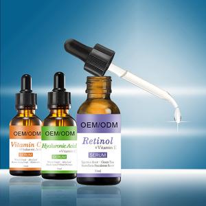 Skin Care private label 30ml retinol serum ALOE VERA hyaluronic acid vitamin E serum cream firming anti aging anti wrinkle serum
