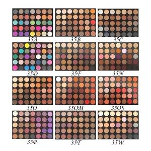 wholesale 35 color morphe brand custom wholesale empty