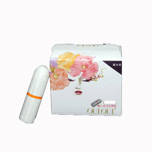 Wholesale Biodegradable Compact Organic Cotton Tampons