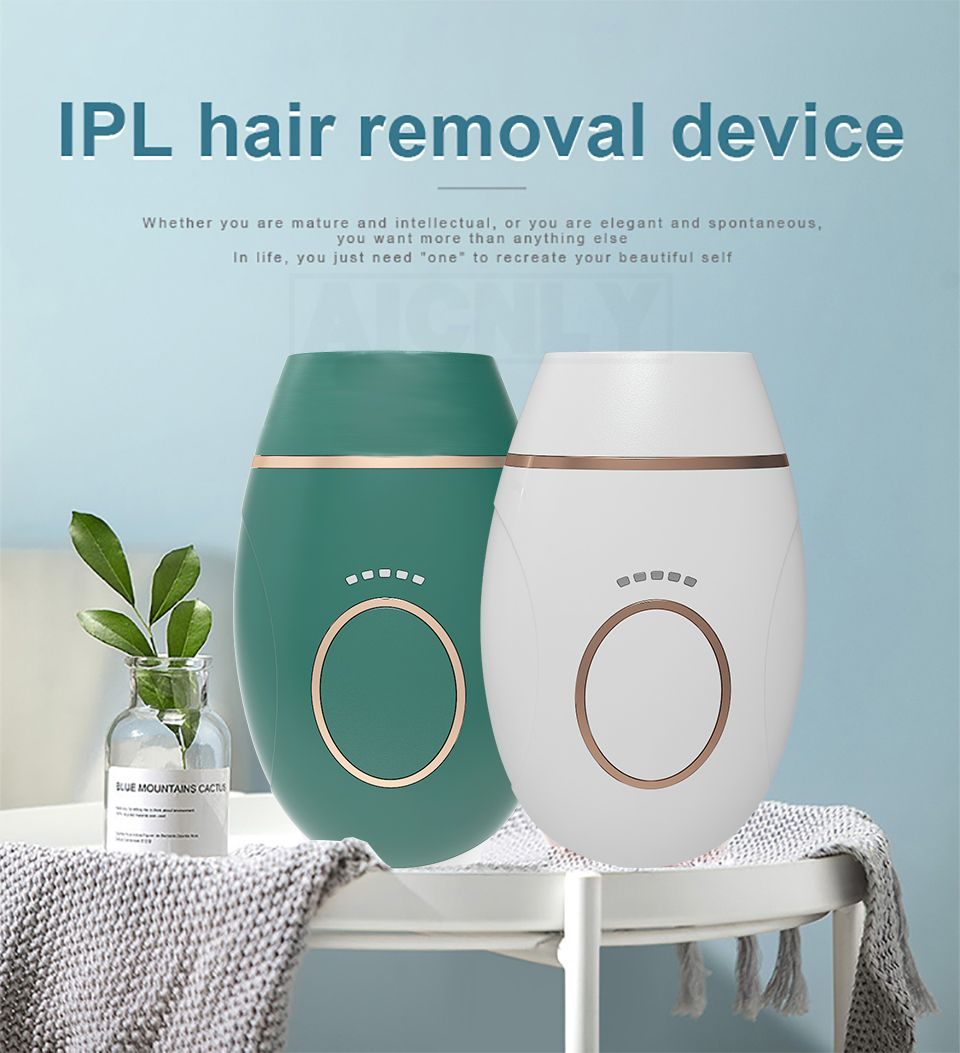 IPL Hair Removal Mini Handheld Laser Epilator Machine for Whole Body Permanent Painless Depilador 900000 Flashes Hair Remover