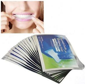 14Pairs/Box Teeth Whitening Strips Clareador Dental Bleaching Tooth Strip Whitening Teeth Strips