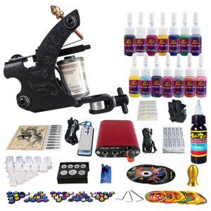 beginner tattoo machine kit complete