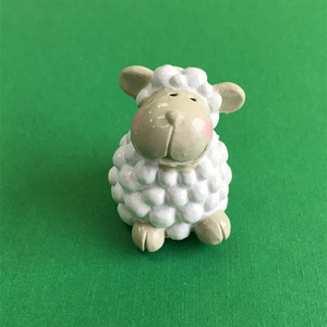 cute animals happy farm series sheep cow pig shape lip balm