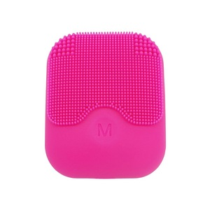 Hot Selling USB Rechargeable Mini Silicone Face Cleansing Brush Sonic Makeup Mask Washing Cleanser